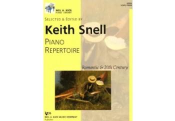 Kjos Piano Repertoire Romantic & 20th Century Level 4 Kitap - Keith Snell