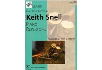 Kjos Piano Repertoire Romantic & 20th Century Level 7 Kitap - Keith Snell