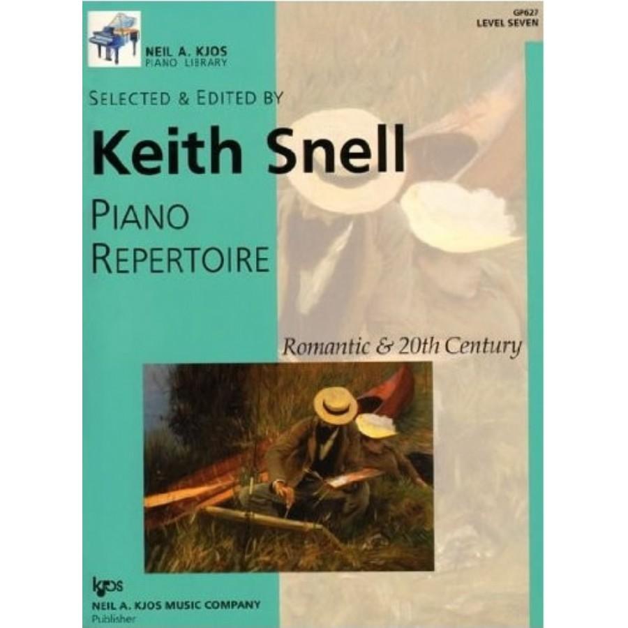Kjos Piano Repertoire Romantic & 20th Century Level 7
