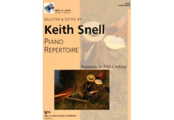 Kjos Piano Repertoire Romantic & 20th Century Level 8 Kitap - Keith Snell