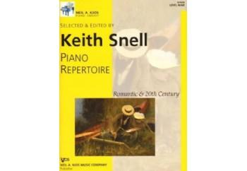 Kjos Piano Repertoire Romantic & 20th Century Level 9 Kitap - Keith Snell