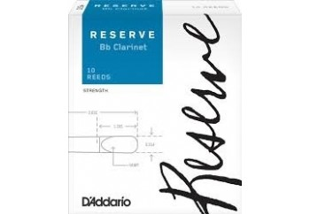 D'Addario Reserve Clarinet Reeds 2 - Sib Klarnet Kamışı