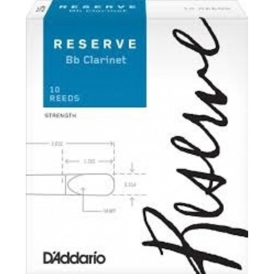 D'Addario Reserve Clarinet Reeds