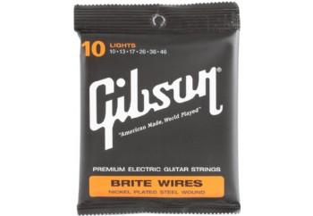 Gibson SEG-700L Brite Wires Strings - Elektro Gitar Teli  010-46