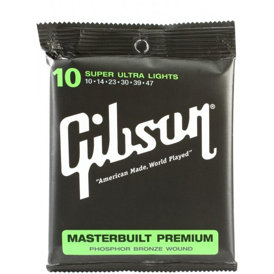 Gibson SAG-MB10 Masterbuilt Premium Phosphor Bronze