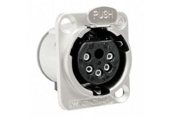 Switchcraft E5FSC  - Şasi Tipi 5-pin XLR (Dişi)