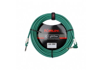 KIRLIN LGI-202-3M Green - 3 metre - Enstrüman Kablosu (3 mt)