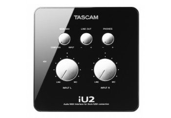 Tascam iU2 Audio / MIDI Interface for iOS Devices - iPhone, iPad ve iPod Touch için Ses Kartı