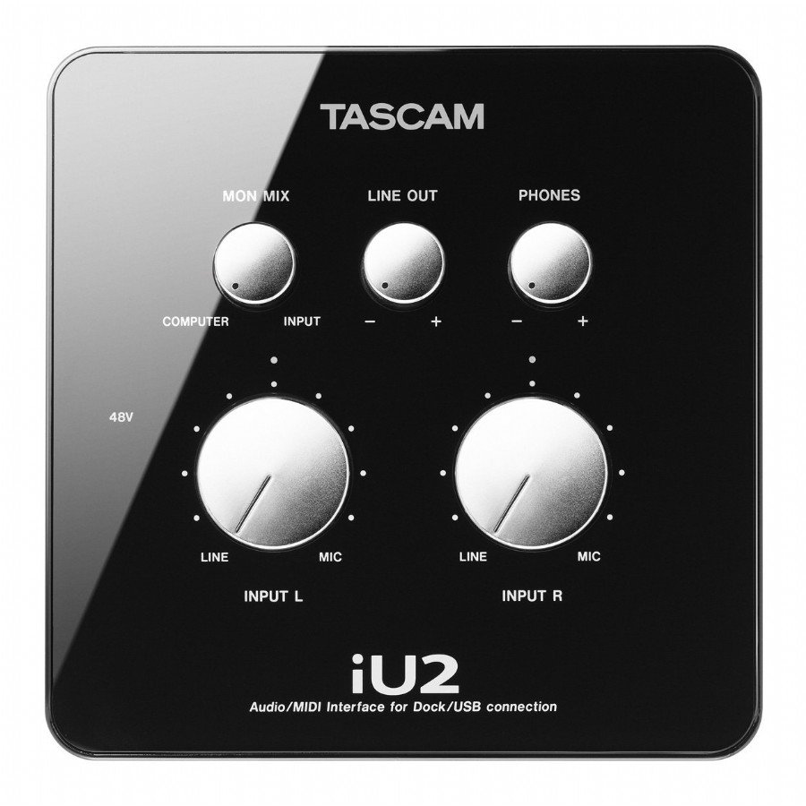 Tascam iU2 Audio / MIDI Interface for iOS Devices