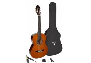 Valencia CA-1 ESTUDIO Classical Guitar Pack NA - Naturel - Klasik Gitar Seti
