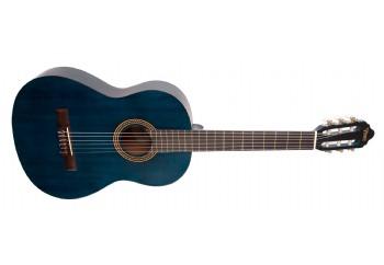 Valencia VC204 TBU - Trans Blue Mat - Klasik Gitar
