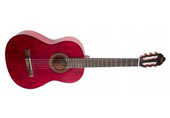 Valencia VC204 TWR - Trans Wine Red - Klasik Gitar