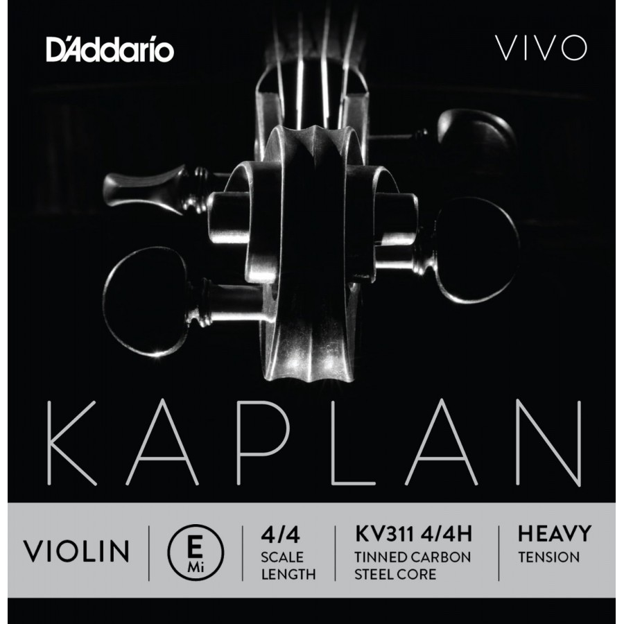 D'Addario KV310 4/4M Kaplan Vivo Series Violin String Set