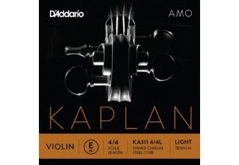 D'Addario KA310 4/4M Kaplan Amo Series Violin String Set E (Mi) Medium Tek Tel - Keman Teli