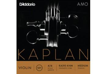 D'Addario KA310 4/4M Kaplan Amo Series Violin String Set Takım Tel - Keman Teli
