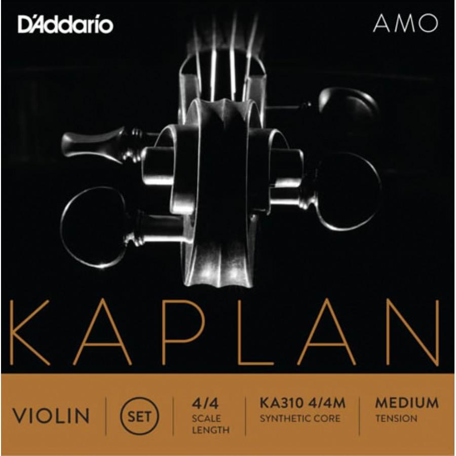 D'Addario KA310 4/4M Kaplan Amo Series Violin String Set