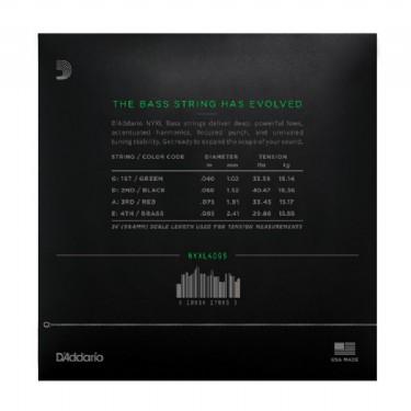 D'Addario NYXL4095, Set Long Scale, Super Light, 40-95