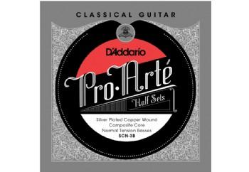 D'Addario SCN-3B Pro-Arte Normal Tension Half Set Üst 3 Tel - Klasik Gitar Teli (Sadece Bas Teller)