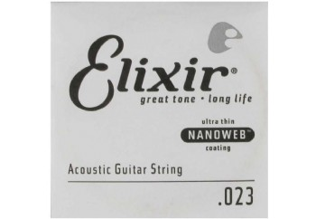 Elixir Wound Acoustic Single .023w Tek Tel