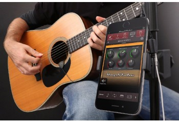 IK Multimedia iRig Acoustic - iPhone, iPod ve iPad için Mandallı Mikrofon ve Arayüzü