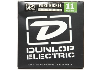 Jim Dunlop DEK1150 Pure Nickel Medium Heavy Takım Tel - Elektro Gitar Teli 010