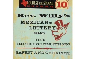 Jim Dunlop RWN1046 Rev. Willy's Mexican Lottery Brand, medium