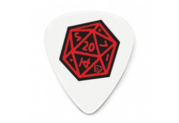 Jim Dunlop Dirty Donny Picks .73mm - Icosahedron - 1 Adet