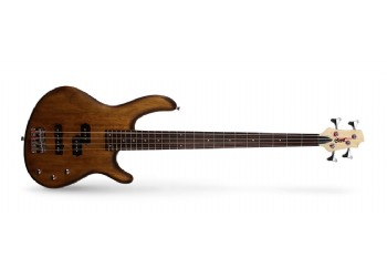 Cort Action PJ OPW - Open Pore Walnut - Bas Gitar
