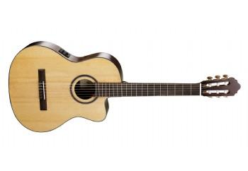 Cort AC160CF NAT - Natural Kılıfsız - Elektro Klasik Gitar