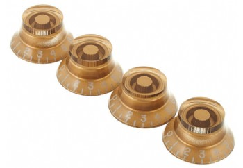 Gibson Top Hat Knobs Gold - 4'lü