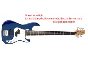 Samick Greg Bennett Corsair CR-15 MR - Metalik Kırmızı - 5 Telli Bas Gitar