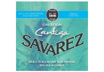 Savarez Creation Cantiga High Tension 510MJ Takım Tel - Klasik Gitar Teli