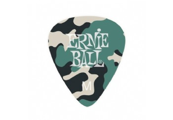 Ernie Ball Camouflage Picks Medium - 1 Adet Pena