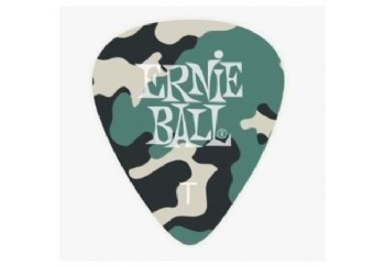 Ernie Ball Camouflage Picks Thin - 1 Adet Pena