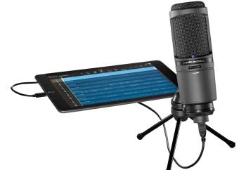 Audio-Technica AT2020USBi Cardioid Condenser USB Microphone - iPad, iPhone ve Bilgisayarınız için USB Condenser Mikrofon
