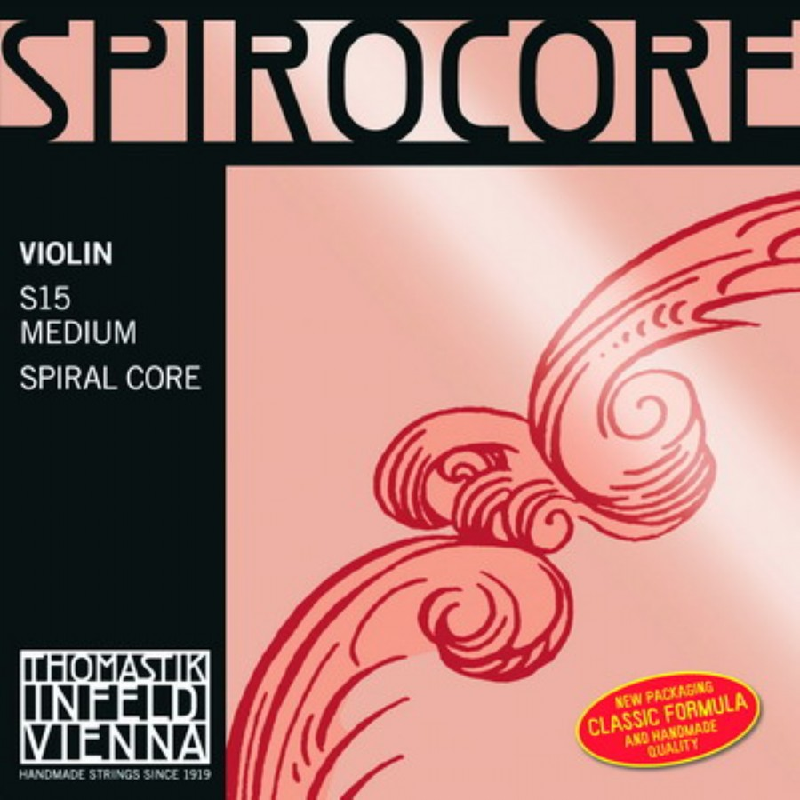 Thomastik Spirocore Medium Violin Strings
