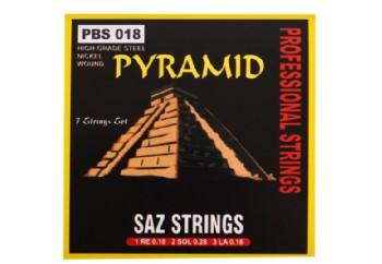 Pyramid PBS18 - Kısa Sap Saz Teli 018