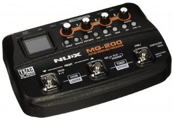 Nux MG-200 Guitar Modeling Processor - Gitar Prosesör