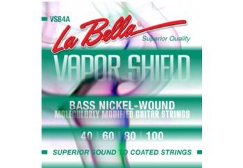 La Bella VSB4A Vapor Shield Bass Strings Takım Tel - Bas Gitar Teli 040-100