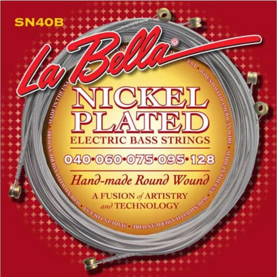 La Bella SN40-B Nickel Rounds