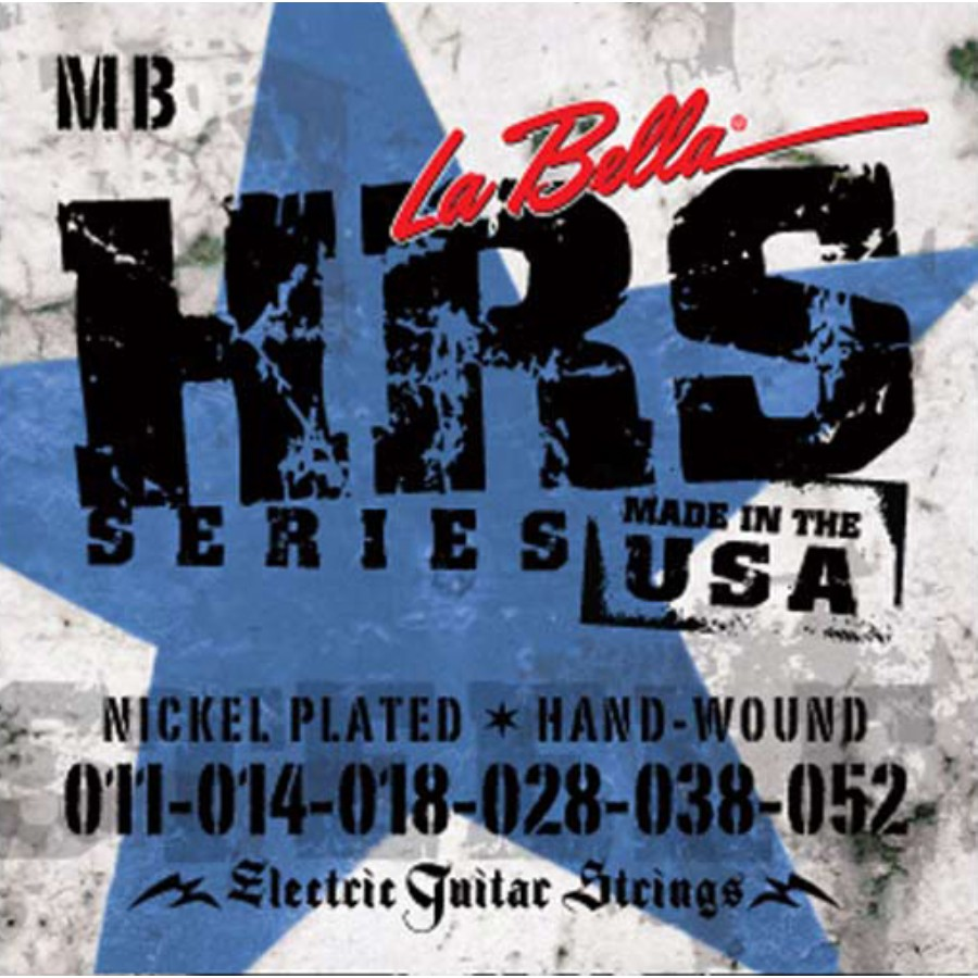 La Bella HRS-MB Nickel Rounds Medium Blues