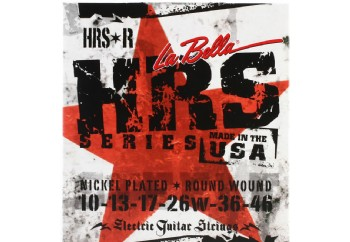 La Bella HRS-R Nickel Rounds Regular - Elektro Gitar Teli 010