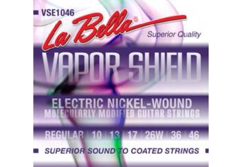 La Bella Vapor Shield VSE1046 Regular Takım Tel - Elektro Gitar Teli 010-046