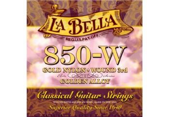 La Bella Golden Alloy 850W Takım Tel - Klasik Gitar Teli