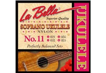 La Bella No.11 Takım Tel - Soprano Ukulele Teli