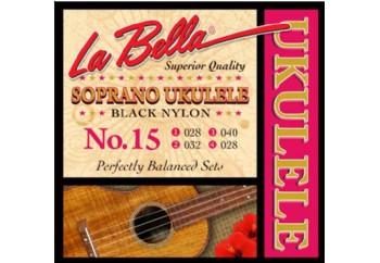 La Bella No.15 Takım Tel - Soprano Ukulele Teli
