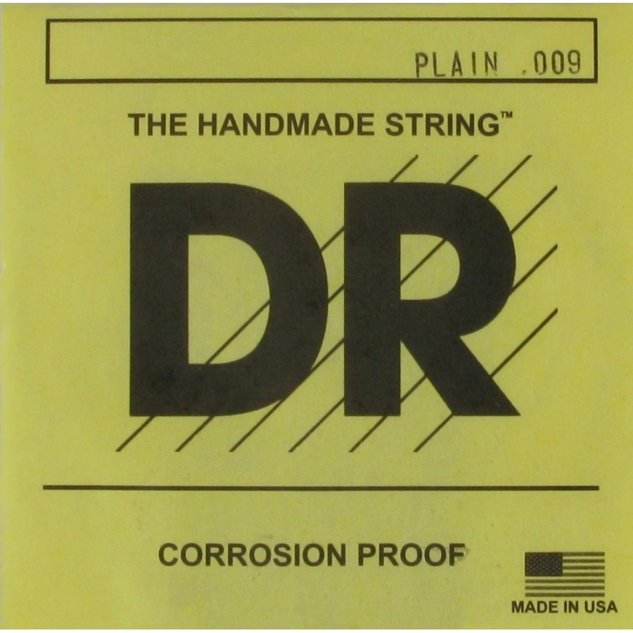DR Plain Steel Single Electric Guitar String