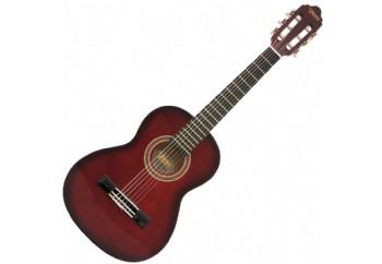 Valencia VC151 (5-7 yaş grubu) RDS - Kırmızı Sunburst - 1/4 Klasik Gitar