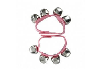 Jinbao JB1043 Wrist Bells Pembe - Çıngıraklı Bell