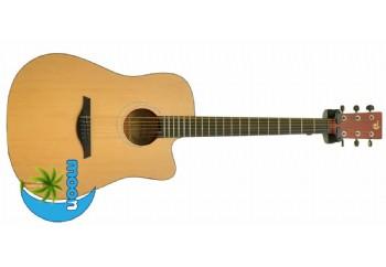 Moon DG120C Naturel - Akustik Gitar